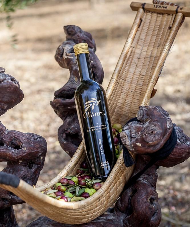 Botella de aceite de oliva Oliturri de ERROIZ