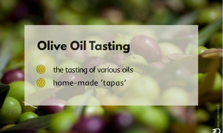 Olive oil tasting ERROIZ